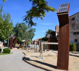 Grisverd - Totem fanal solar